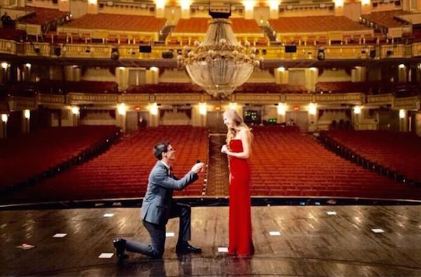 phantom of the opera  Yaratıcılığın sınırlarını zorlayan 20 muhteşem evlenme teklifi phantom of the opera