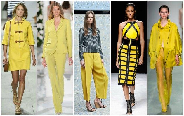 sarı modası