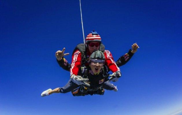 paraşüt sky dive