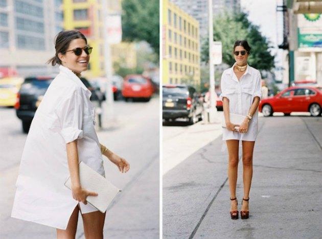 Leandra-moda bloggerı ve gömlek