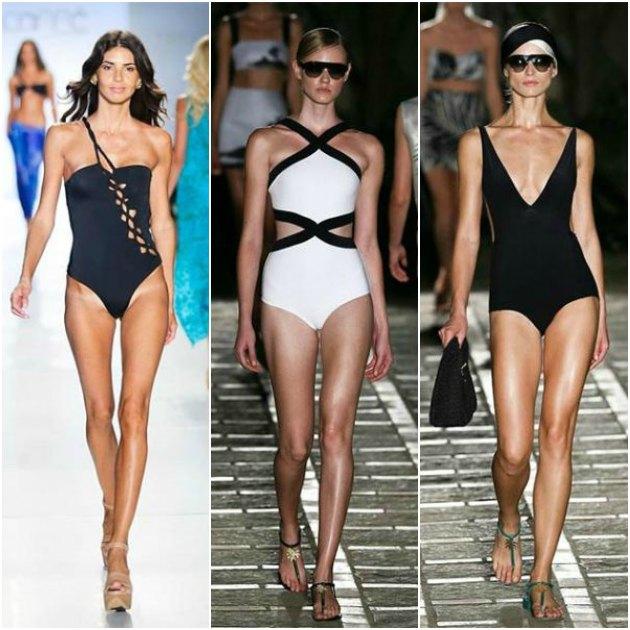 Minimalizm akımı, 2015 plaj modasında da kendini gösteriyor.
