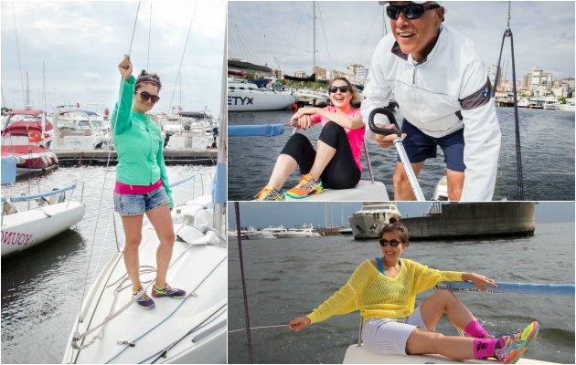 Uplifers kızlarının yelkenli tekne turundan öğrendikleri 5 önemli kural