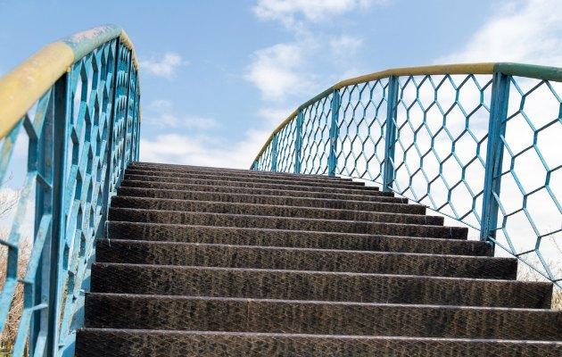 Hayatınızın basamaklarını teker teker ardınızda bırakın.