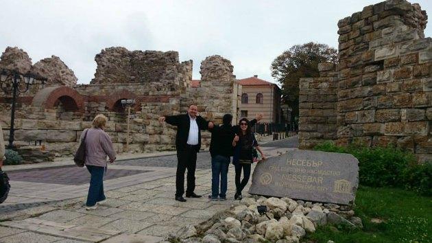 Nessebar'daki tarihi kalıntıları gezebilirsiniz.