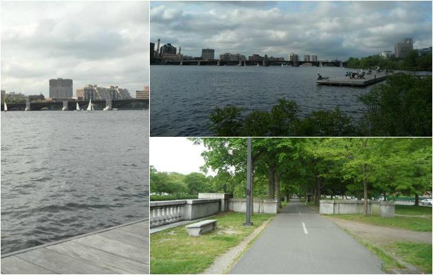 Boston'ın simgelerinden Charles Nehri'nin güzelliği