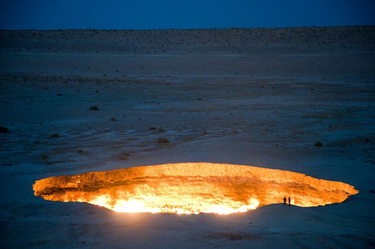14 cehennem kapısı derweze türkmenistan