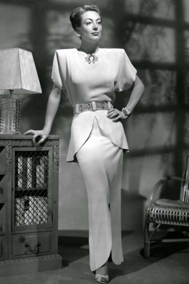 1940'ların göz kamaştıran kadın modası
