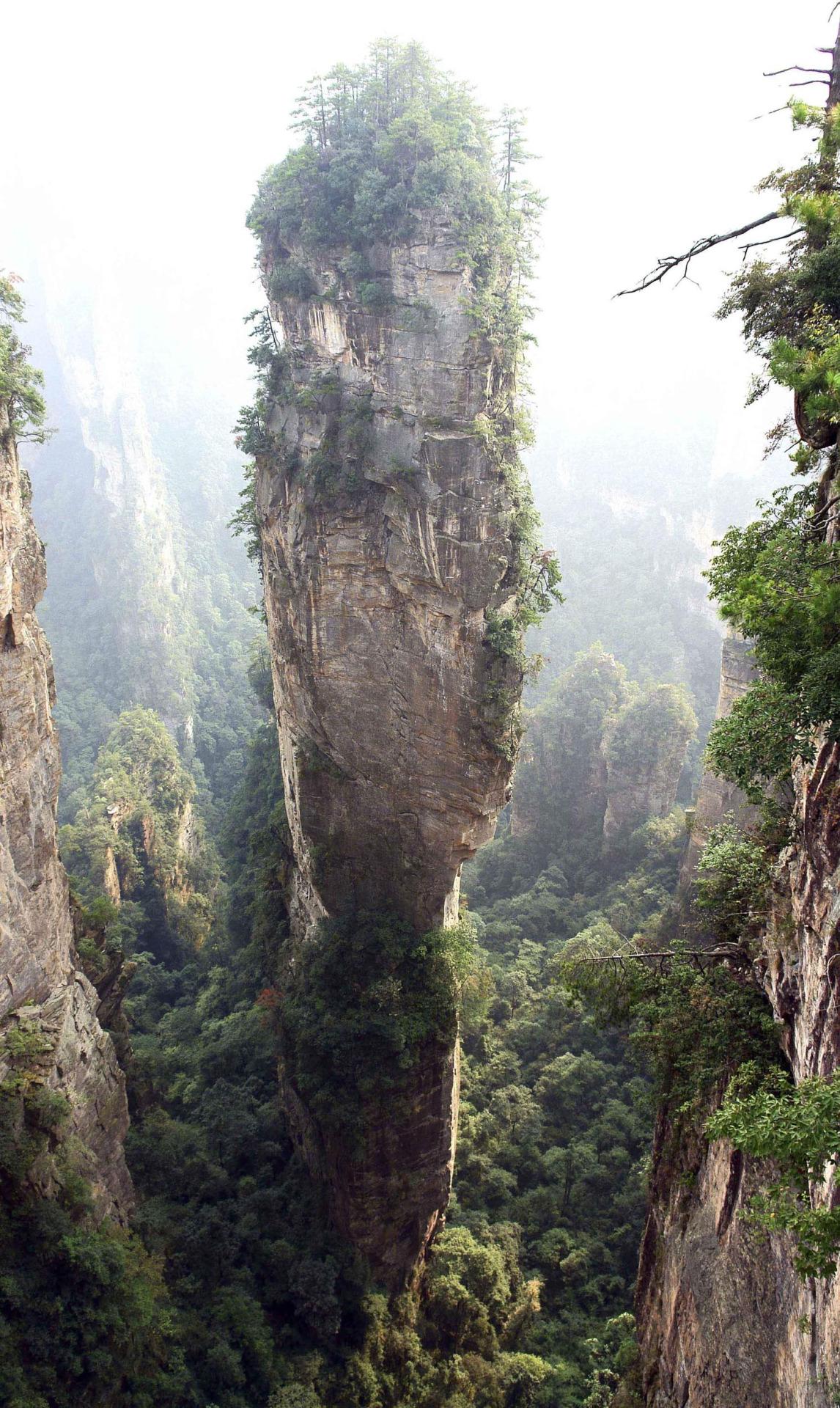21 Zhangjiajie National Forest Park çin  Ölmeden önce görmeniz gereken 30 yer 21 Zhangjiajie National Forest Park  C3 A7in