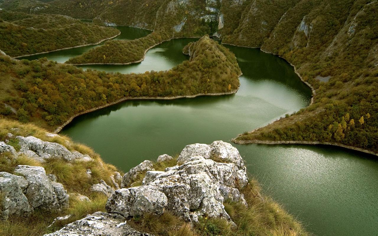 30 uvac nehri kanyonu sırbistan