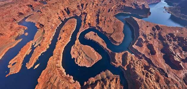 Dünyanın dört bir yanından nefes kesen kuş bakışı fotoğraflar