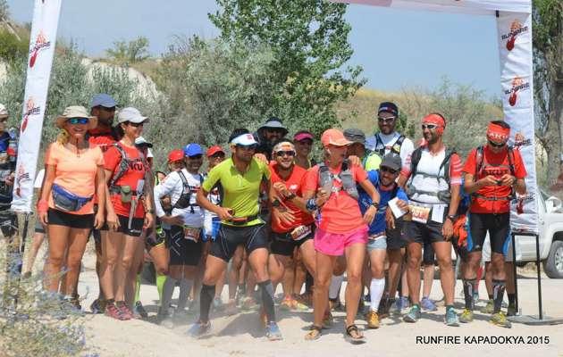 Runfire Kapadokya Ultra Maratonu katılımcılarından fotoğraflarla müthiş deneyimler