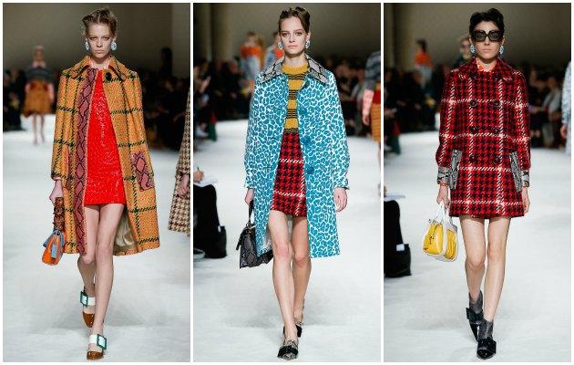 Sonbahar modasının galibi kareler