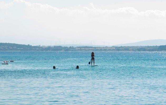 Denizde biten koşu nasıl oluyor derseniz cevabı Asics Çeşme Weekend