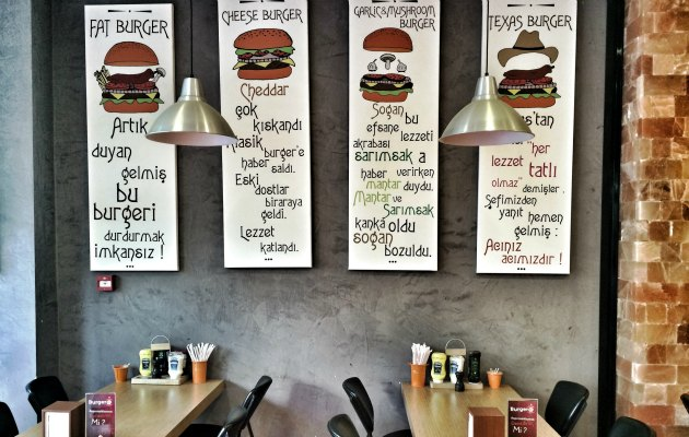 Food Fashionista  Burger@ 'de
