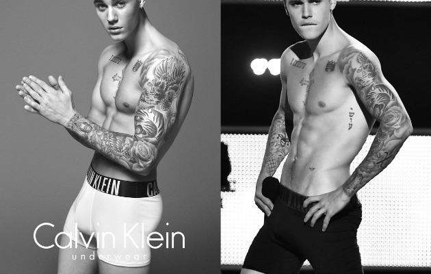 Justin Bieber for Calvin Klein