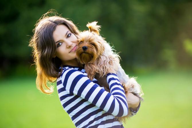 Köpeğinizin davranışları, üzerinizdeki kıyafete göre değişebilir