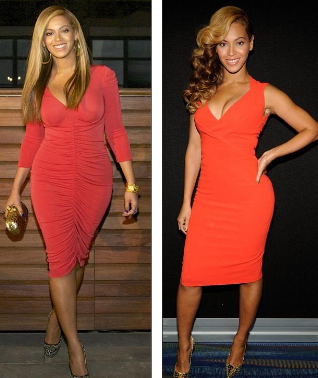 Beyonce interval kardiyo ve ağırlık gibi pek çok kilo verdiren egzersiz yapmıştı