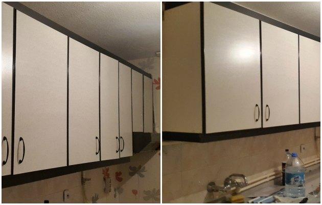 DIY- Kendin yap: Mutfak dolapları