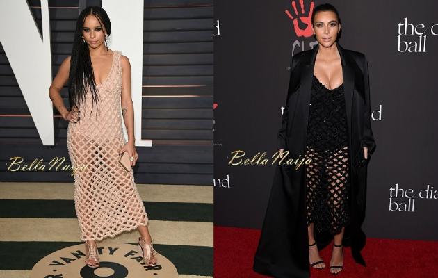 Kim Kardashian da sık sık moda kurbanı olan ünlülerden