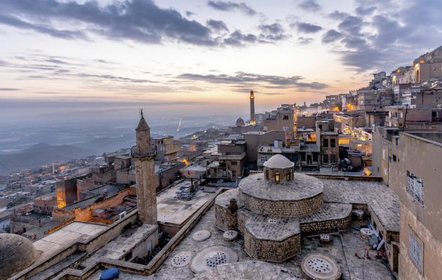 Mardin'den bir şehir manzarası