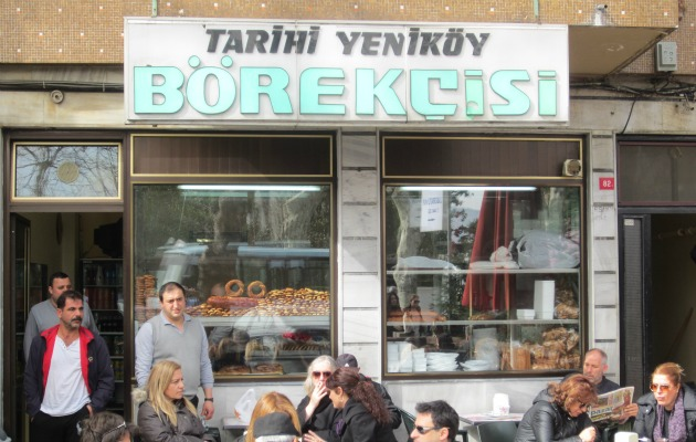 Tarihi Yeniköy Börekçisi