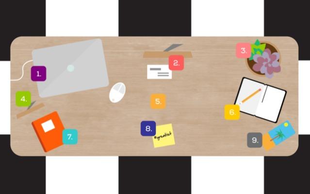 Feng Shui'ye göre ideal çalışma masası düzeni