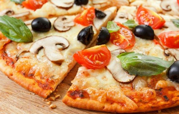 italyan mutfağından pizza
